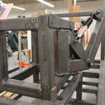 The base weldment to hold the arm